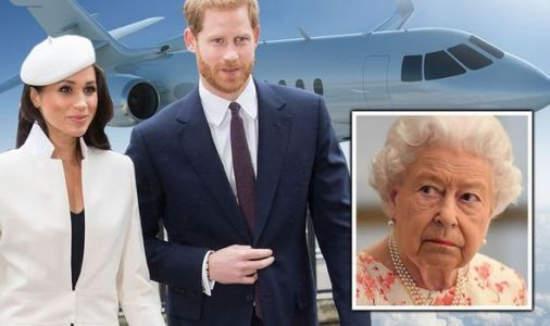 Meghan Markle and Harry urged to follow Queen's example amid jet row - Express.co.uk poll