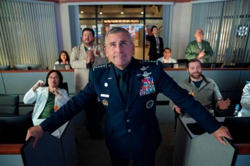 The Office US's Steve Carell's stars in new Netflix comedy series Space Force