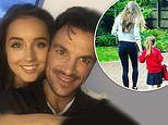 Peter Andre followed his doctor wife Emily's wishes to send their daughter Amelia back to school