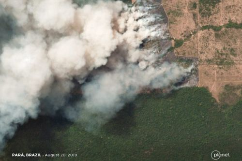 Amazon fires: Satellite images show what's happening in Brazil