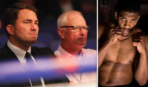 Anthony Joshua-Deontay Wilder negotiations must be accelerated, says Barry Hearn
