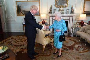 Here's why the Queen has given Boris Johnson access to Buckingham Palace