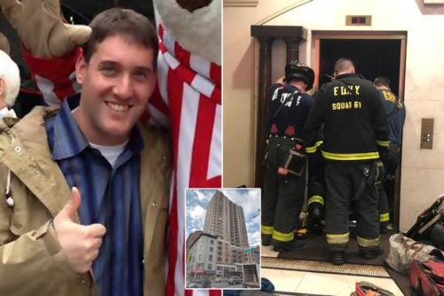 Man crushed to death by lift in luxury apartment block after it was 'tampered with'