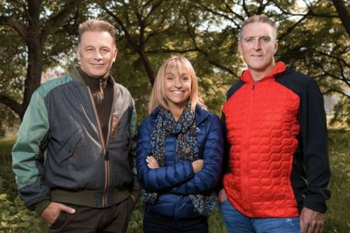 Michaela Strachan says she'll miss co-host Chris Packham as they film apart