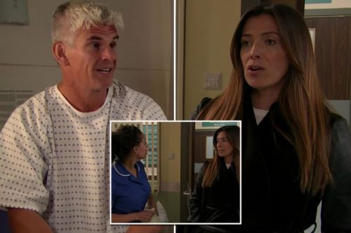Coronation Street nurse's blunder accidentally exposes love rat Robert to furious Michelle