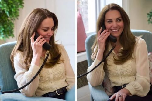 Kate Middleton stuns as she re-wears blouse from engagement photo 10 years ago