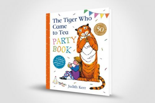 FREE* The Tiger Who Came to Tea Party Book