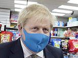 Boris Johnson and Michael Gove clash over face masks in shops