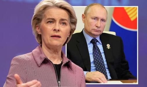 EU takes on Russia! VDL makes £50m pledge to END Putin squeeze after 'emergency' declared