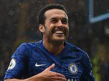 Roma 'to offer Pedro contract worth £2.7m a year' as Serie A side aim to sign Chelsea winger