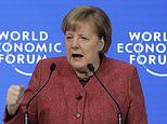 Angela Merkel makes thinly-veiled dig at Brexit chaos in Davos speech