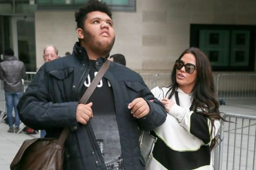 Katie Price says Harvey's tantrums became a 'crisis' as he smashed windows