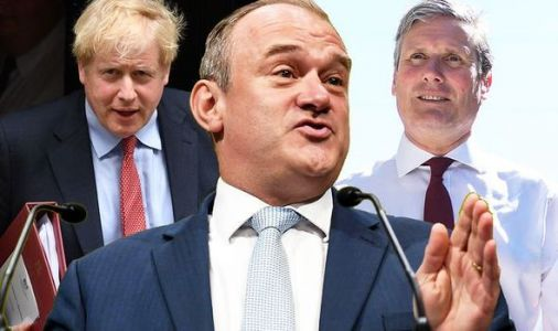 Remainer coaltion: Lib Dems' Ed Davey vows to plot with Keir Starmer to oust Boris Johnson