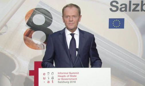 Tusk says ANYTHING could happen with Brexit talks tonight as he urges UK to REWORK plans