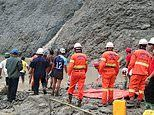 Huge landslide kills 100 miners at jade mine in Myanmar