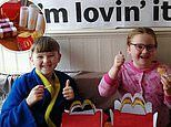 Mum-of-three spends SEVEN hours turning her living room into a McDonald's restaurant for children