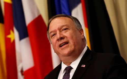 US has restored UN sanctions on Iran, says Pompeo