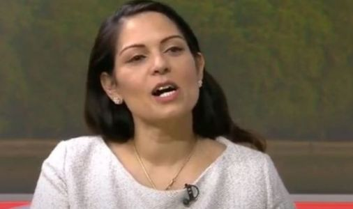 Priti Patel squirms as Piers calls for her resignation after losing '400,00 crime records'