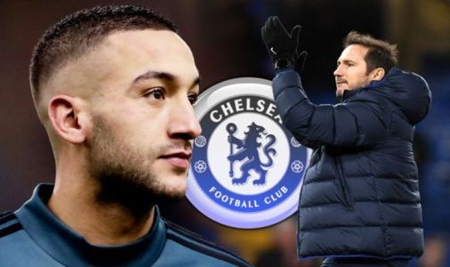 : Pictures from Hakim Ziyech's first training session as a Chelsea player