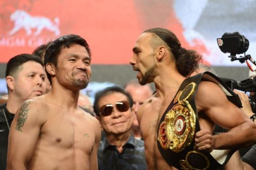Manny Pacquiao vs Keith Thurman LIVE results: UK fight start time, undercard, TV channel and live stream