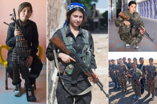 Battle-hardened female soldiers fighting ISIS after vowing to eradicate caliphate