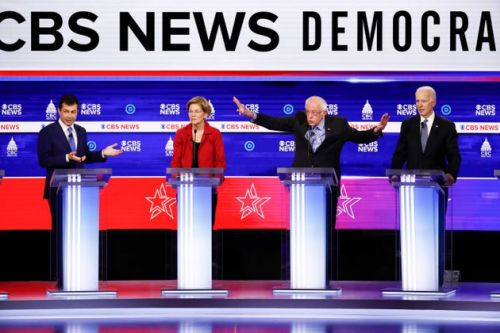 Bernie Sanders Targeted Again And Again In Chaotic Democratic Debate