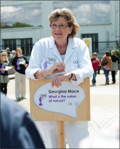 Remembering Georgina Mace