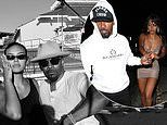 Jamie Foxx is 'helping out' singer Sela Vave with her music as the pair are seen holding hands