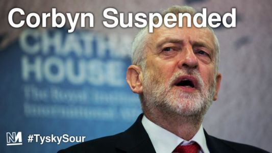 Corbyn Suspended