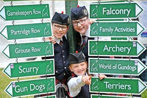 Scone Palace gearing up for Scottish Game Fair this weekend