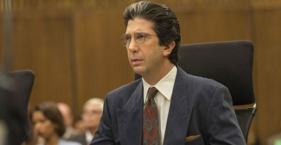Fans can't help but recall David Schwimmer as Robert Kardashian after Kim's hologram