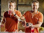 Ryan Reynolds pours VERY liberally as he teaches fans how to make his cocktail theVasectomy