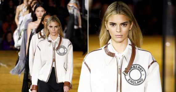 Kendall Jenner shows off newly-dyed blonde hair as she returns to catwalk