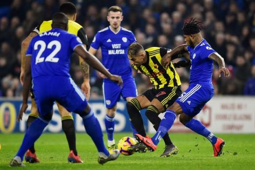 Cardiff 0-1 Watford LIVE score: Teams, TV channel and Premier League live stream