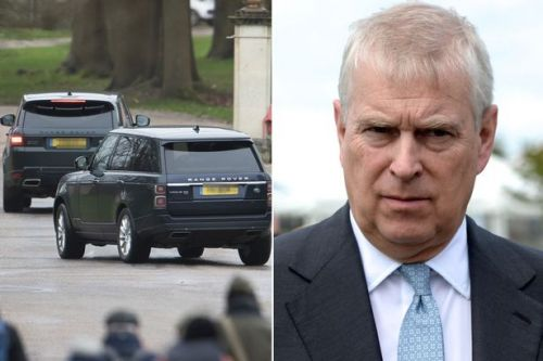 Guests arrive for Prince Andrew's birthday party - but many were 'unavailable'