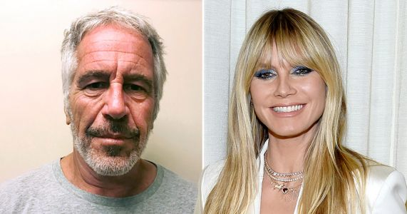 Heidi Klum denies travelling on Jeffrey Epstein's private jet: 'Totally false'