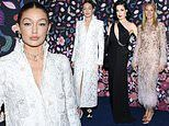 Gigi Hadid leads the glamour with Gwyneth Paltrow and Dita Von Teese at Harper's Bazaar event at PFW
