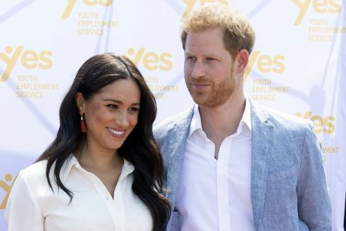 Prince Harry stayed by Meghan Markle's side as she recorded Elephant doc