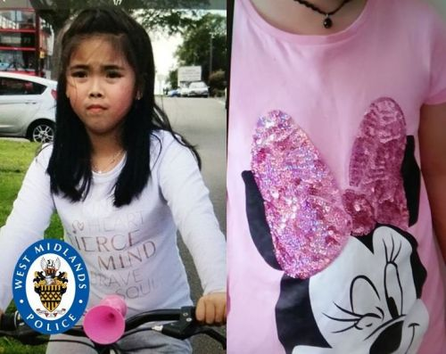 Cops launch urgent hunt for autistic girl, 7, who vanished from her Birmingham home wearing a pink Minnie Mouse top
