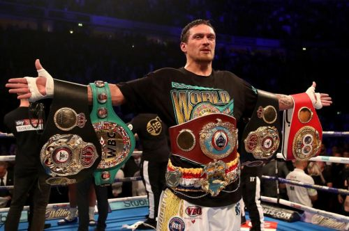 Usyk could become Anthony Joshua's WBO mandatory if he moves up to heavyweight