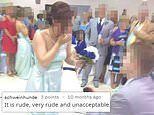 Bridesmaid steals her best friend's thunder on her wedding day by getting engaged to groomsman
