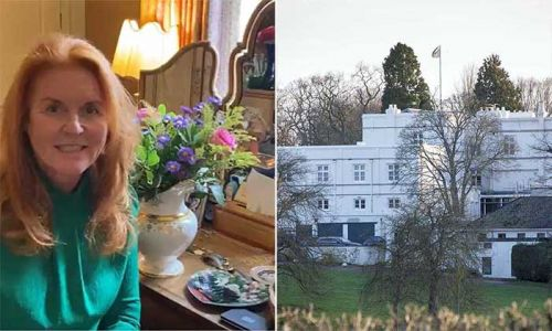 The view from Sarah Ferguson's bedroom will blow your mind