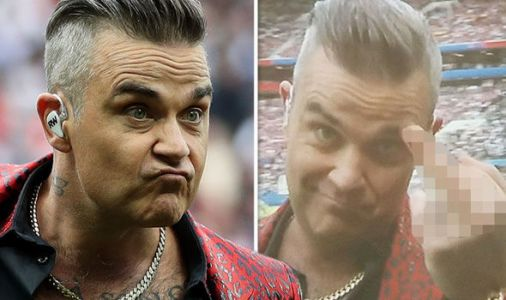 World Cup 2018: Robbie Williams SHOCKS as he changes lyrics - 'I did this for free'
