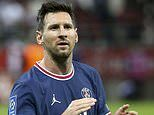 Lionel Messi STARTS first PSG match in Champions League tie at Club Brugges with Neymar and Mbappe
