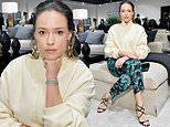 Alicja Bachleda-Curuś attends the opening of Ben Soleimani's design room