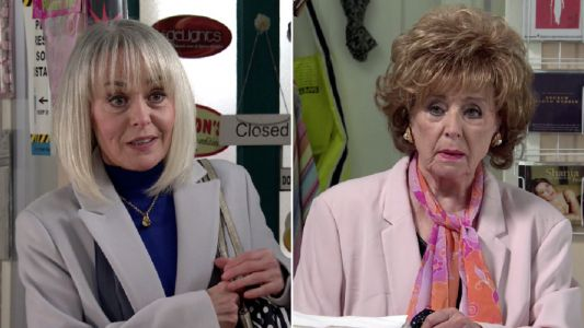 Coronation Street spoilers: Sharon Bentley hatches a secret plot to steal everything from Rita Tanner?
