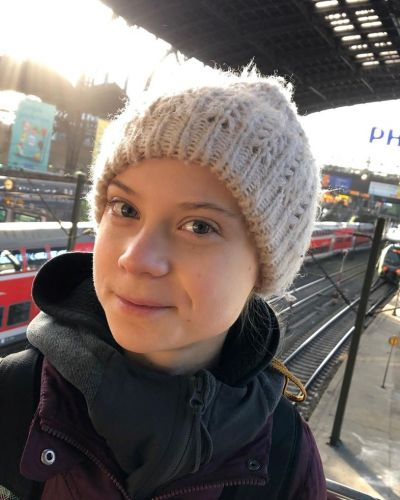 Greta Thunberg reacts as a politician calls COVID-19 'great' for pipelines