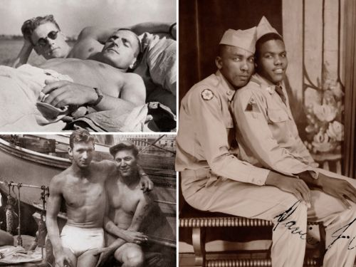 Book collects photos of men in love from 1850s to 1950s when gay relationships were illegal