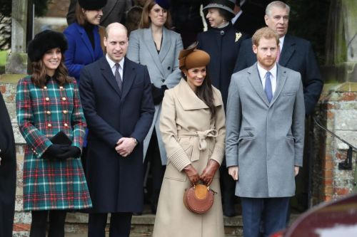 There's a bizarre tradition of weighing each member of the royal family before and after Christmas dinner, and Meghan Markle and Doria Ragland might have to take part
