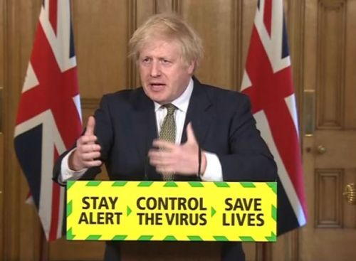 Boris Johnson Warns Public 'Enjoy Summer Safely' As Pubs Reopen in England